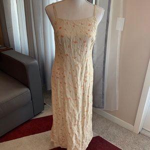 Vintage J.Crew Maxi Linen Dress